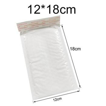 10 pcs Of Different Specifications White Bag Foam Envelope Foam Foil Office Packaging Envelope Moistureproof Vibration Bag 1