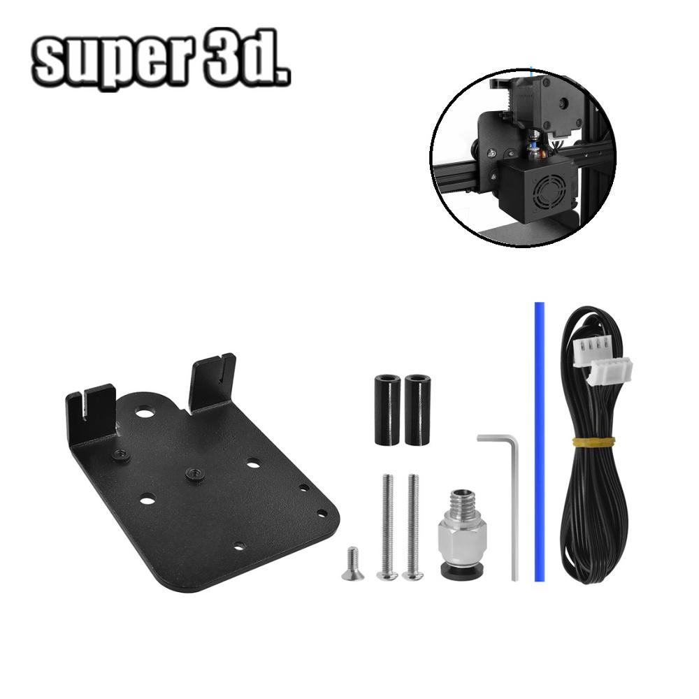 Ender 3 Direct extrusion Drive Plate Upgrade Kit Aluminum Alloy For Creality CR10 Ender-3 5 pro Direct Extruder Adapter Plate