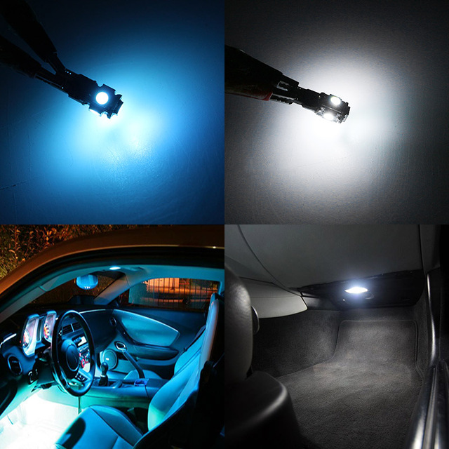 Edislight 17Pcs Canbus No Error LED Lamp Car Bulb Interior Package Kit For 2007-2015 Cadillac Escalade Map Dome Door Plate Light 5