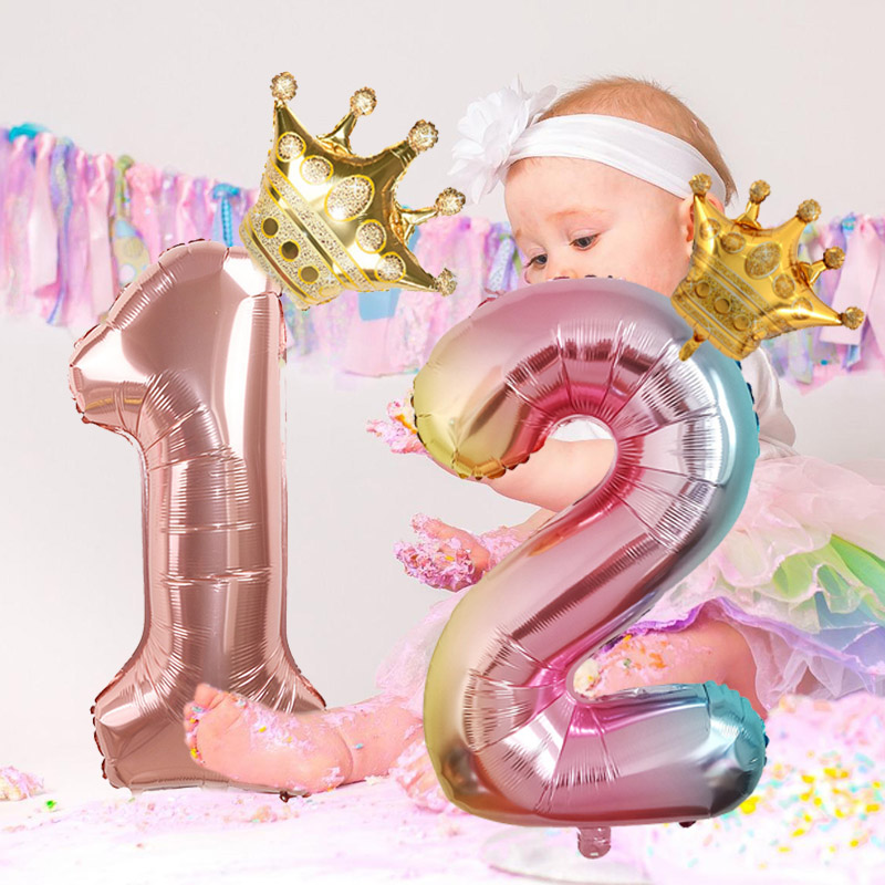 32in-Rainbow-Birthday-Balloons-Rose-Gold-Number-Foil-Balloons-1-2-3-4-5-Years-Happy