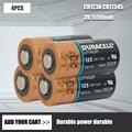 Аккумуляторная батарея Duracell 123, литиевая батарея для камеры Arlo 3V, CR123A, CR17345, DL123A, EL123A, 123A, оригинал, 4 шт./лот