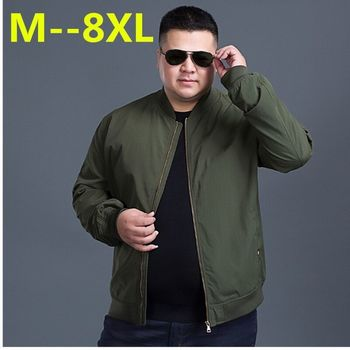 10XL 8XL 6XL 5XL Male Jackets Thin Spring Autumn Coats Quality Casual Windrunner Jacket Men Windbreakers And Veste Man Outerwea