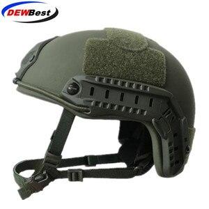Image 2 - ISO 인증 DEWBest 방탄 브랜드 NIJ 레벨 IIIA 빠른 하이 컷 방탄 Aramid 탄도 헬멧 8Yrs 보증