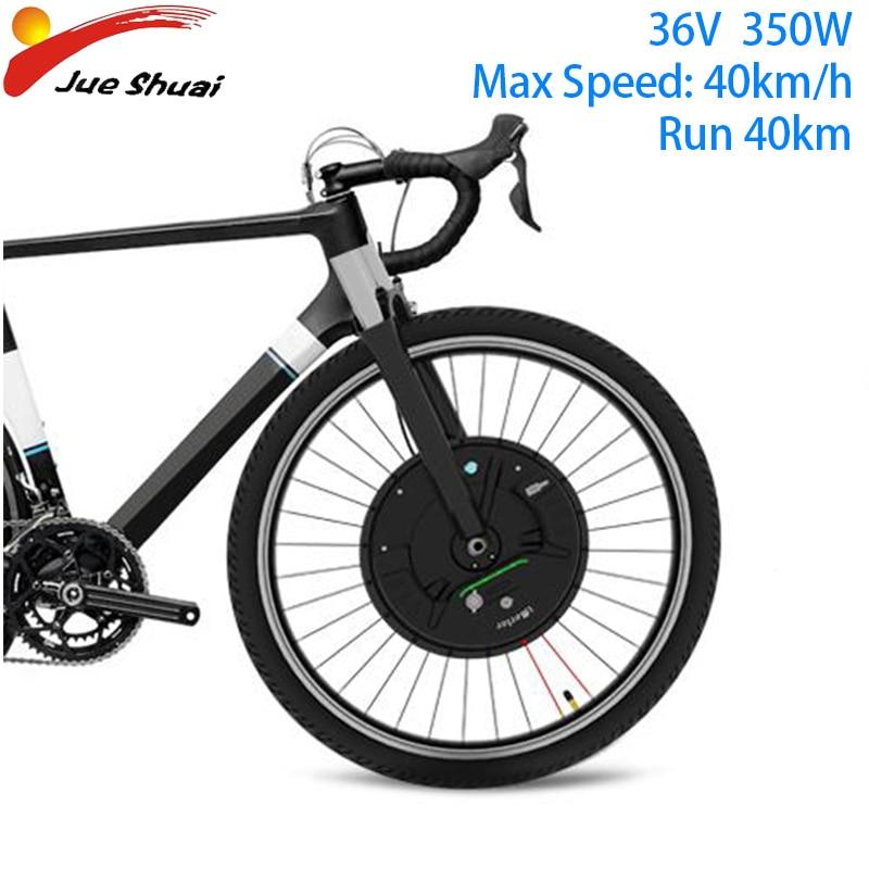 IMortor 3 moteur à courant continu 36V 350W vtt vélo de route avant moteur roue avec App Kit de Conversion de vélo électrique E Kit de vélo Bicicleta Electrica