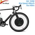 Imortor 3 dc motor 36 v 350 w mtb bicicleta de estrada roda do motor dianteiro com app kit conversão bicicleta elétrica e kit bicicleta elétrica