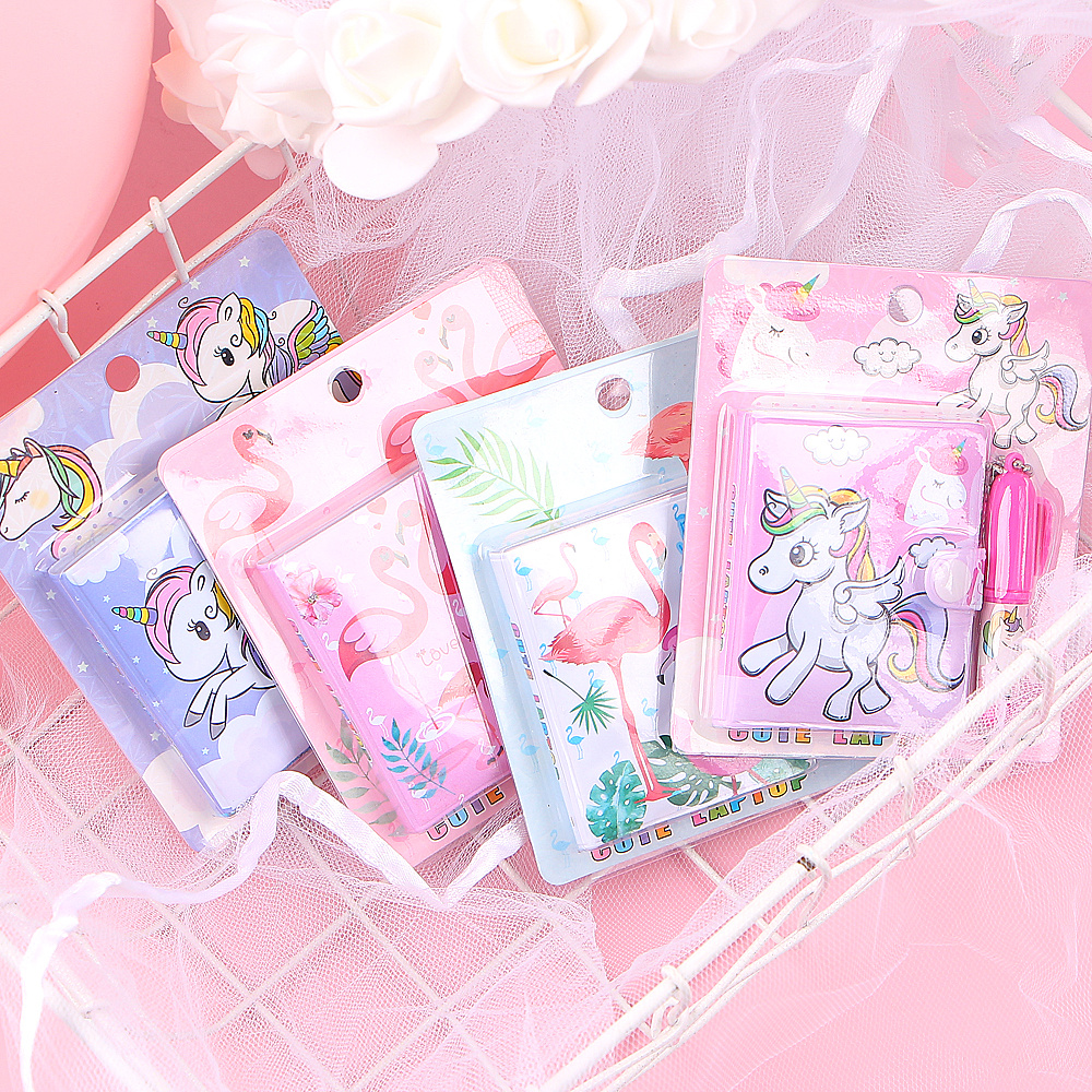 1 PC Cute Unicorn Flamingo Memo Pad Sticky Notes Memo Notepad Notebooks Gift Kawaii Stationery