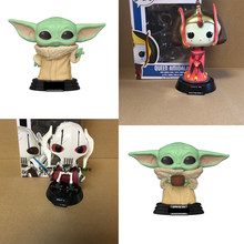 POP STAR & QUEEN AMIDALA GENERAL GRIEVOUS the child with box Action Figure Model toys for chlidren