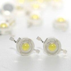 1000 шт. светодиодный ные бусины высокой мощности, 1 Вт, 3 Вт, 5 Вт, DC 3,2-3,6 В