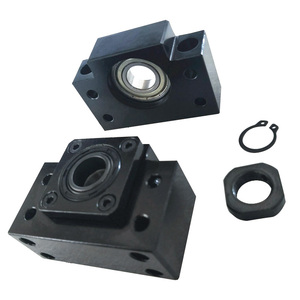 Image 5 - Tornillo de bola SFU2505/2020 2510mm BKBF20, eje Y, mecanizado de extremo de 20mm, juego de HGR20 2500mm de riel lineal para enrutador CNC, promoción de 2500