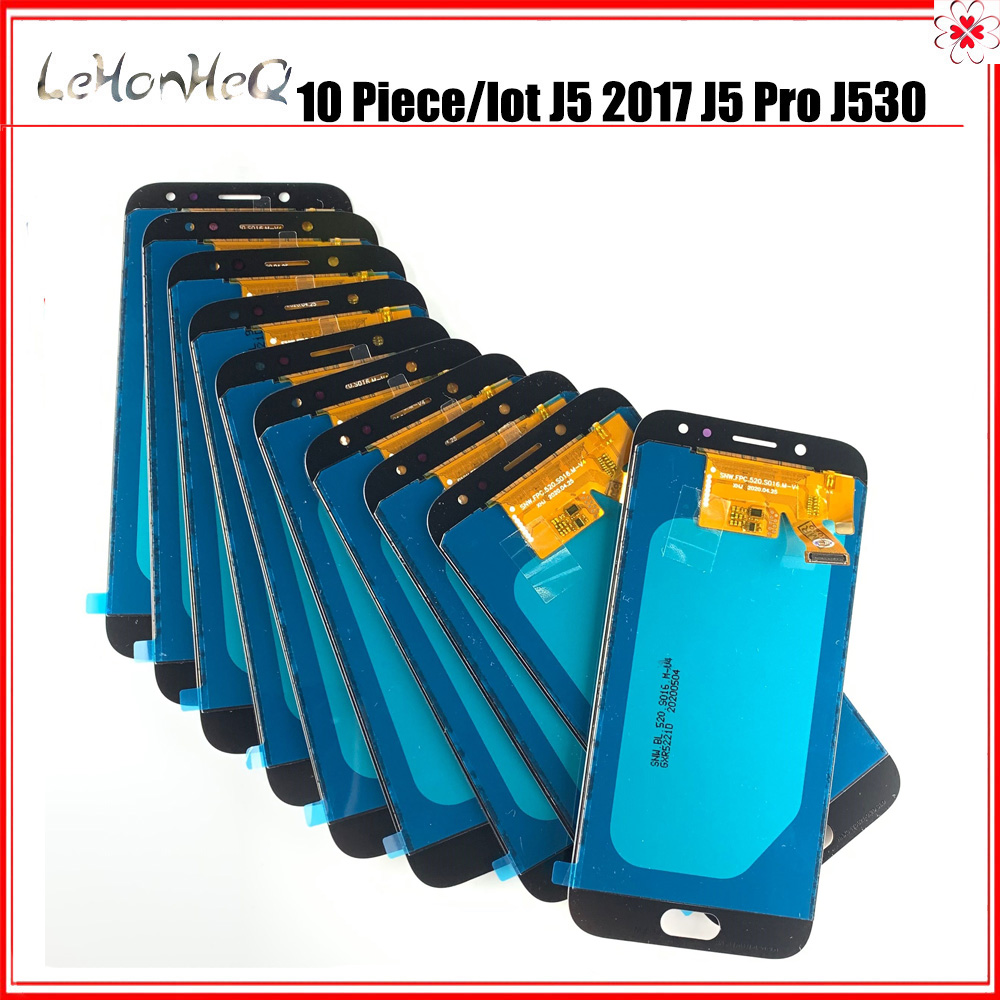 10 Piece/lot <font><b>J5</b></font> <font><b>2017</b></font> <font><b>Display</b></font> For <font><b>Samsung</b></font> <font><b>galaxy</b></font> <font><b>J5</b></font> Pro J530 J530F LCD <font><b>Display</b></font> Touch Screen Digitizer Assembly image