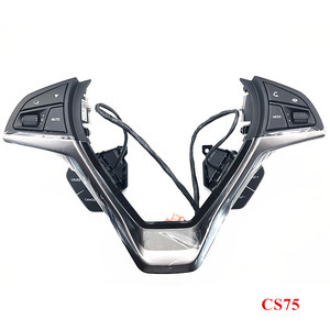 Image 4 - زر التحكم في عجلة القيادة ، مفتاح الصوت ، ملحقات السيارة ، لـ changan cs35 2017 CS15 CS75