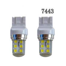 100 шт t25 3157 t20 7443 стробоскопическая вспышка blink 12