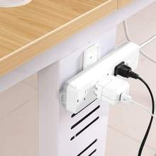 Professional High-quality Self-Adhesive Power Strip Fixer Household Socket Holder Rotatable Mount