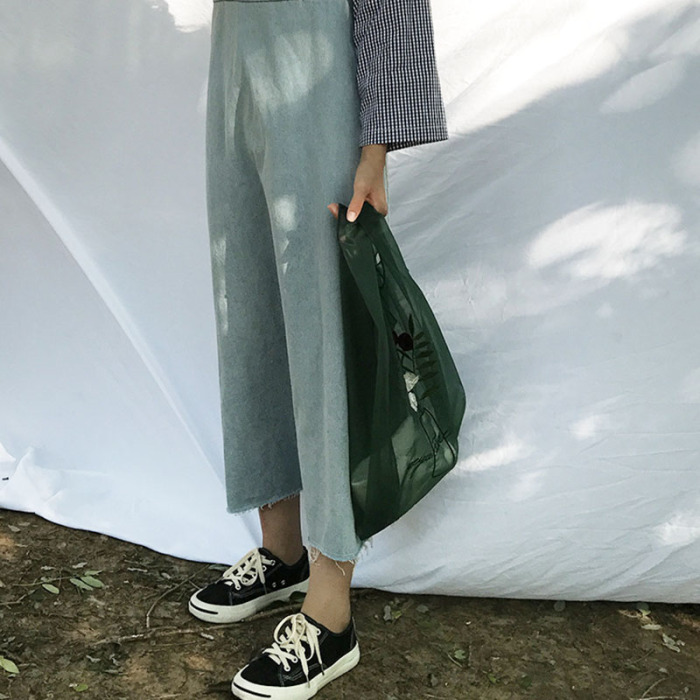 feminino portátil saco de compras para viagens