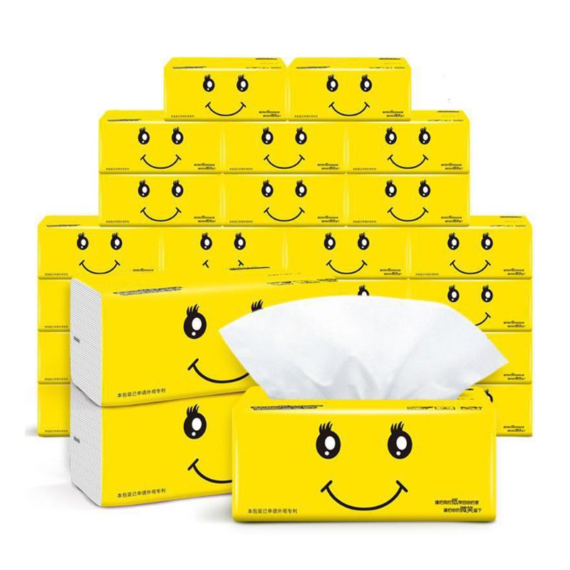 3Bags Silky Smooth Soft Premium 3-Ply Toilet Paper Kitchen Toilet Facial Tissues  Soft Absorbent Tissues Paper 100% Natural Wood