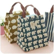 Женская сумка для ланча, модная Изолированная Термосумка для еды, пикника, ланча, сумки для женщин, детей, мужчин, сумка-шоппер, чехол
