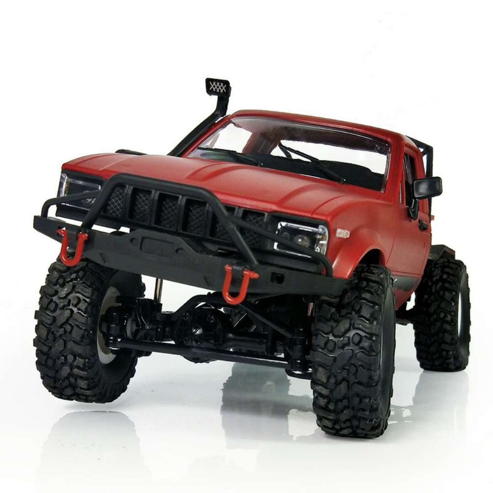 2018 New Arrival 1:16 WPL C14 Scale 2.4G 4CH Mini Off-road RC Semi-truck RTR Kids Climb Truck Toy for Children HOT!