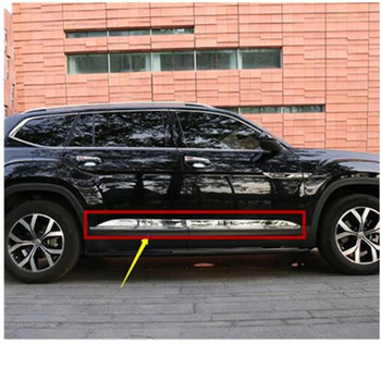 For Volkswagen Teramont/Atlas 2017-2020 Car styling high quality Stainless Steel body side moldings side door decoration
