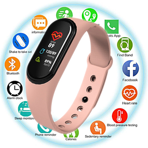 M4 Smart Band Heart Rate Blood Pressure Monitor Smart Bracelet Fintness Activity Trackeer Smart Wristbands Watch