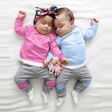 Winter Twin Baby Boy and Girl Matching Tracksuit Set