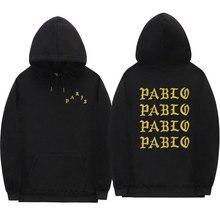 I Feel Like Pablo Mens Fashion Winter Thick Cotton Pullover Hooded Harajuku Streetwear Sweatshirts 3D Hoodies
