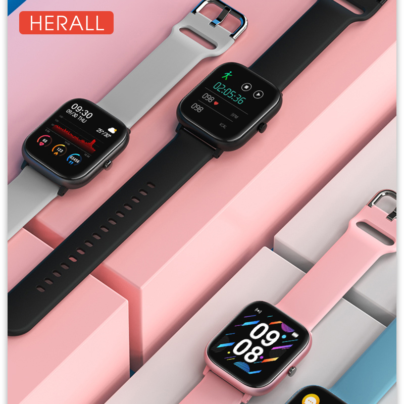 2020 Global Version Smart Watch Fitness Bracelet Calories Heart Rate Monitor Sport Smartwatch Men Women For Android Xiaomi Apple(China)