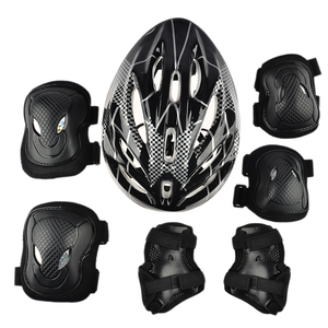 Elbow Wrist Knee Pads And Helm
