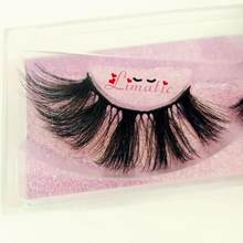 Limatic HC series 10 style 20mm Chemical fiber eyelash HandMade 5D silk Hair/faux mink False Eyelashes extension(China)