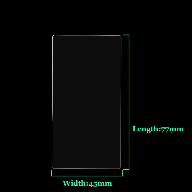 Protector Pantalla para Sony Alpha 6600 Cristal Película Vidrio Transparente