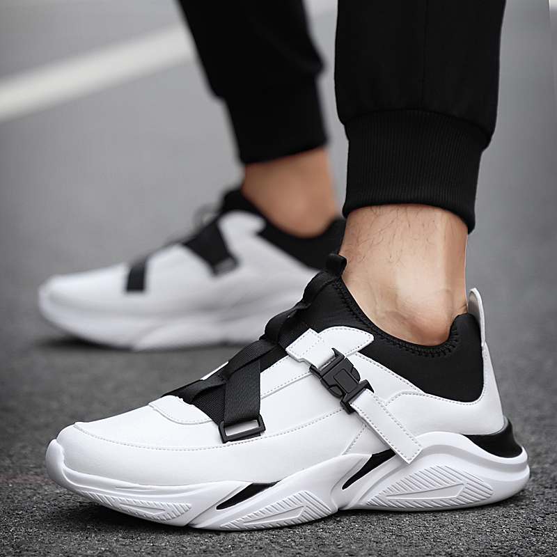Men Casual Shoes Breathable Hard-Wearing Air Mesh Slip On Sock Shoes Men Sneakers Tenis Masculino Adulto Light Large Size 38-48