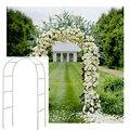 Arco do casamento decorativo jardim pano de fundo pérgola ferro suporte flor quadro para casamento aniversário festa de casamento decoração arco diy