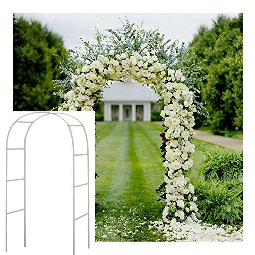 Wedding Arch Decorative Garden Backdrop Pergola Iron Stand Flower Frame For Marriage birthday wedding Party Decoration DIY Arch(China)