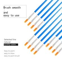ZWTale Manicure Dotting Painting Design Acrylic Nail Art Brush For Decoration