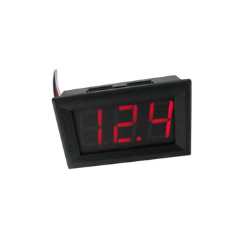Digital Voltmeter DC 0-100V Digital Voltmeter Voltage Panel Meter Red/Blue/Green For 6V 12V Electromobile Motorcycle Car image
