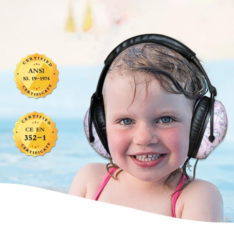 Защита ушей ZOHAN для детей, защита ушей, шумоподавление, защитные средства защиты органов слуха для детей ясельного возраста-4