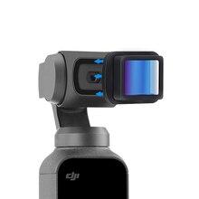 Ulanzi lente anamórfica para Osmo, Kit de lente gran angular para Osmo Pocket, OP 11 de cine, lente de cámara de bolsillo, 1.3x