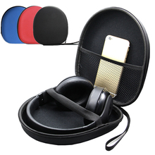 Case for Headphones Bag for Earphone Box Portable Headphone Hold Cases Earbuds Carrying Hard Bags Storage Organizer цены