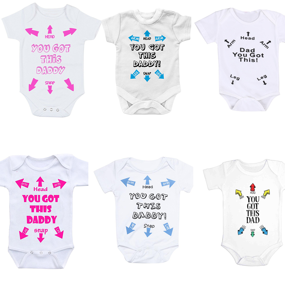 I Hooked Daddy/'s Heart Babygrow Cute Child Love Daughter Son Present