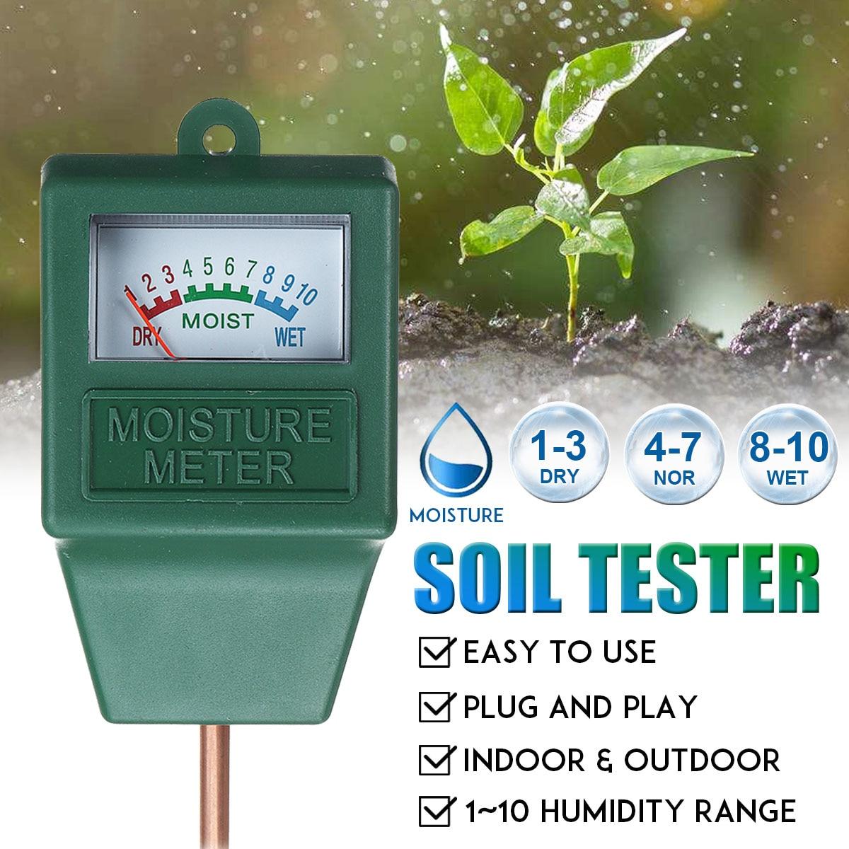 Новый прибор для измерения влажности почвы, солнечного света, PH метр, тестер для растений, цветов, кислотности, влажности, садовые инструменты|Измерители pH|   | АлиЭкспресс