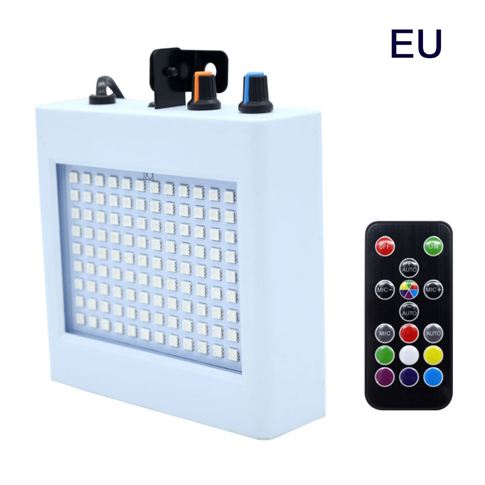 LED Stage Light 108Leds Strobe Lighting DJ Disco Stroboscope Led Light Effect RGB Lamps For KTV Bar Party Show US Plug