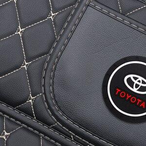 Image 4 - 1 stücke Auto Anti Kick Pad Sitz Zurück Kissen Anti Schmutzig Pad für Toyota Prius Avensis Rav4 Auris yaris Verso Land Cruiser Camry Highl