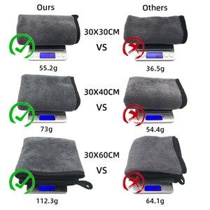Image 5 - מיקרופייבר מגבת רכב מיקרופייבר בד לשטוף מגבת מיקרופייבר ניקוי בד רכב לשטוף ייבוש מגבת אוטומטי המפרט