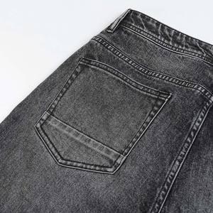 Image 5 - سيموود 2020 جديد الجينز الرجال الكلاسيكية جان جودة عالية مستقيم الساق الذكور سراويل تقليدية حجم كبير القطن سراويل جينز 180348