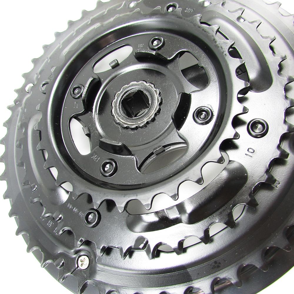PROWHEEL Triple Crankset MTB Mountain bike Chainset Alloy Crank 28-38-48T