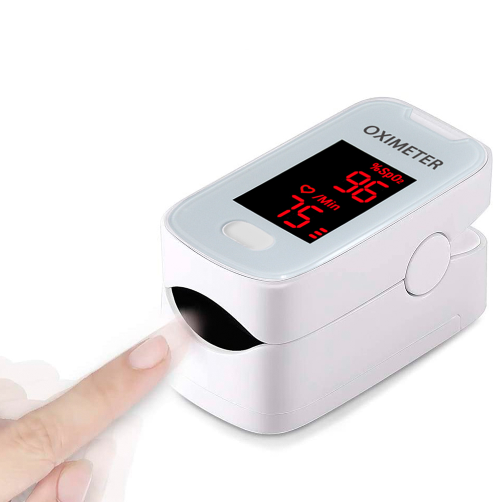 Portable Sleep Monitoring OLED Blood Oxygen Battery Powered Hospitals Sports Accurate Heart Rate Detect Finger Pulse Oximeter