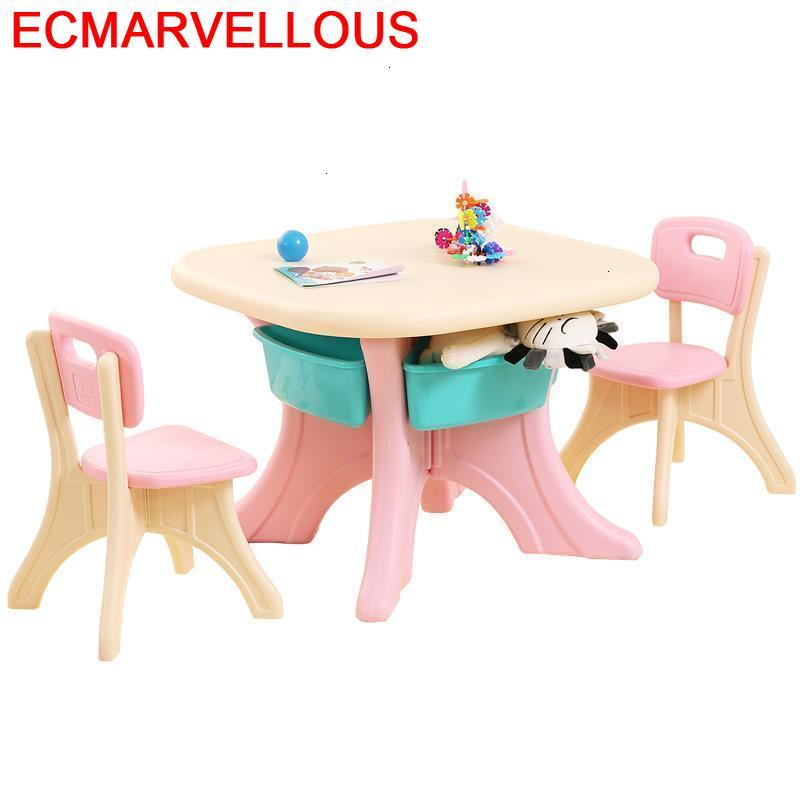 Silla Kids And Chair Mesinha Cocuk Masasi Tavolino Bambini Kindergarten Study Mesa Infantil Kinder Bureau Enfant Children Table