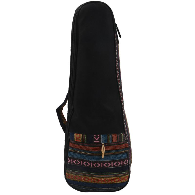 21-Inch Ethnic Style Adjustable Ukulele Bag