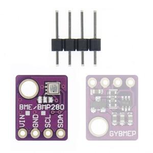 Image 1 - 100 stücke BME280 Digital Sensor Temperatur Feuchtigkeit Luftdruck Sensor Modul I2C SPI 1,8 5V GY BME280