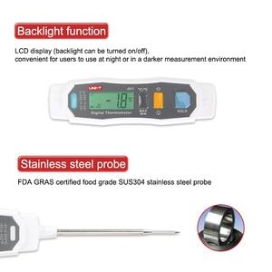 Image 5 - A61 IP65 حماية التحقيق نوع المنزلية ميزان الحرارة تجهيز الأغذية ميزان الحرارة السائل/شبه الصلبة الداخلية مقياس درجة الحرارة