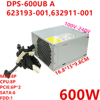 New PSU For HP Z420 600W Power Supply DPS 600UB A 623193 001 632911 001|PC Power Supplies| |  -